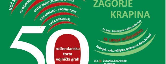 50. rođendan Radija Hrvatsko zagorje Krapina, Opća opasnost, Dinamov pehar iz 1967, Sajam braniteljskih udruga… […]